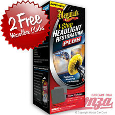 Meguiars Car / Motorbike Headlight Lense & Clear Plastic Restoration Kit