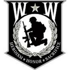 """PIN WOUNDED WARRIOR """"Honor Shield"""" (1-1/8"""")"""