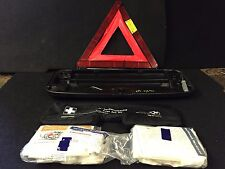 BMW OEM E60 E61 525I REAR TRUNK LID FIRST AID TOOL KIT ROAD EMERGENCY HAZARD 74K