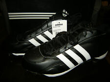 Brand New Mens Black & White Adidas Excelsior 5 Mid Metal Baseball Cleats,