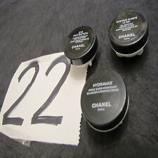 Chanel lot 3 Hydramax 43 01 Systeme pureté le gel 41 02 Eye protection 25 01