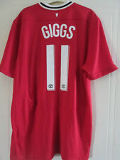 Manchester United Giggs 2011-2012 Home Football Shirt XL /37874