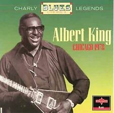 ALBERT KING LIVE CHICAGO 1978 CHARLY BLUES LEGENDS (CD-1994) MADE IN EEC OOP