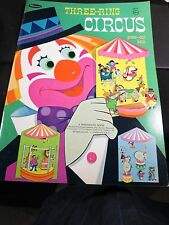 Whitman Three-Ring Circus Press-out Book , 1970, Unused