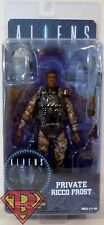 "PRIVATE RICCO FROST Aliens 7"" inch Scale Movie Figure Series 9 Neca 2016"
