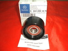 Genuine Mercedes-Benz OM642 Top Engine Crankcase Pulley A6422001070 NEW