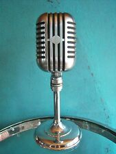 Vintage RARE 1940's Turner 101B dynamic / ribbon microphone deco old antique RCA