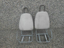 2002 FORD THINK FRONT SEAT SEATS 4-SEATER (NO BOTTOM  KUSHION) GOLF CART #O -TOP