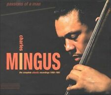 CHARLES MINGUS: THE COMPLETE ATLANTIC RECORDINGS 6CD PASSIONS OF A MAN BOX SET.