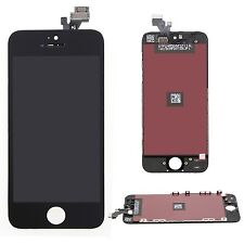 Para iPhone 5 LCD y Pantalla Táctil Replacement Frontal Negra Digitizer Assembly