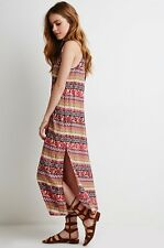 NWT New Forever 21 Floral Paisley Print Maxi Dress Small S