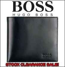 New Hugo Arezzo Men's Trifold Coin Pocket Wallet, 100% Authentic!