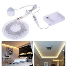 Battery USB Motion Activated Bed Lighting Flexible LED Strip Sensor Night Light