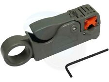 Cable Cutter Stripper Stripping Tool Coax TV Satellite RG58 RG59 RG6