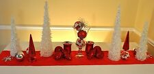 Christmas Tablescape - Chistmas Centerpiece With Instructions for Quick Setup