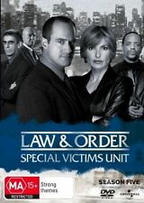 Law And Order - Special Victims Unit : Season 5 (DVD, 2008, 6-Disc Set)