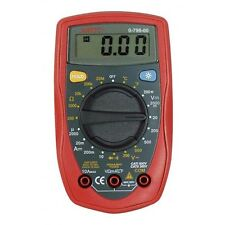 DURITE 0-798-00 HAND HELD DIGITAL MULTIMETER WITH TEMPERATURE PROBE
