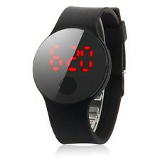 New Fashion Men Women's Date Waterproof LED Digital Leather Quartz Wrist Watch