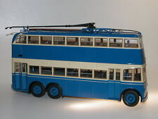 Ultra Models, 2-Door Double Deck Trolleybus YaTB-3, USSR  O-Bus, 1/43