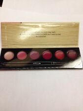 STILA PORTRAIT OF A PERFECT POUT -VIBRANT- LIP PALETTE . 100% AUTENTIC 6 Shades