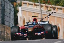 Neel Jani Hand Signed 12x8 Photo Scuderia Toro Rosso F1 8.