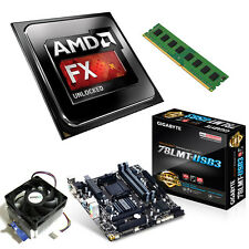 AMD FX 8320 Eight Core 4.00GHz 8GB Gigabyte 78LMT-USB3 Motherboard Bundle