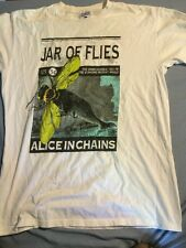 VTG 90s Alice In Chains Jar Of Flies Tour T-Shirt Mens SZ L Alt Rock Band
