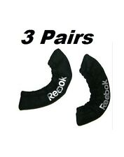 3 New Reebok ice hockey skate blade covers size junior Jr. black ACBCV guards