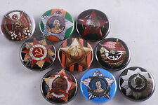 Magnet Lot Set of 9 Soviet Order Medal Red Banner Glory Labor Patriotic War Star
