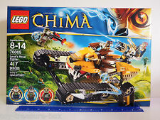 LEGO Legends of Chima - Laval's Royal Fighter - 70005 - 417 pc set - Ages 8-14