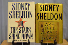 Sidney Sheldon 1st Edition books The Stars Shine Down Ex-Library Are You Afraid