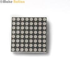 MATRICE LED 8x8 Rosso-Anodo Comune-per l'utilizzo con Arduino, colorduino, e più