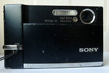 Sony Cyber-shot DSC-T50 7.2 MP Digital Camera  Black ,Camera Only No accessories