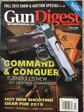 Gun Digest Command And Conquer Shooting Gear Fall 2015 FREE SHIPPING!