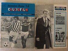 2 PROGRAMMI RIVISTE CALCIO FILM JUVENTUS VS. ROMA 27/11/1974 E SPECIALE 1976