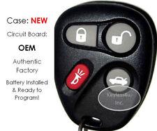 NEW Safarie keyless remote control entry KOBLEAR1XT key FOB 15043458 clicker OEM