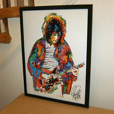 Brian May, Queen, Singer, Rock Guitar Player, Guitarist, Hard Rock, POSTER w/COA