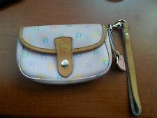 Genuine DOONEY & BOURKE Pink Small Clutch Strap Purse Bag MADE IN USA