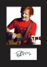 ED SHEERAN #2 Signed Photo Print A5 Mounted Photo Print - FREE DELIVERY