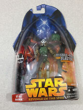 STAR WARS REVENGE OF THE SITH #01-54 AT-RT DRIVER WITH MISSILE FIRING BLASTER