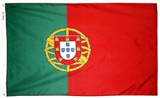 Portugal Portuguese 3' x 5' Flag w/ Grommets to Hang Pride Country Banner