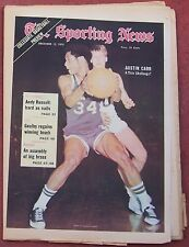 DECEMBER 12, 1970 SPORTING NEWS NOTRE DAME AUSTIN CARR ON COVER BASKETBALL