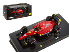 FERRARI F92 A #27 J.ALESI SPAIN GP 1992 ELITE 1/43 MODEL CAR BY HOTWHEELS T6281