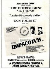 14/2/81PGN48 MOVIE ADVERT 7X5 HOPSCOTCH