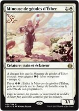 MTG Magic AER - Aethergeode Miner/Mineuse de géodes d'Éther, French/VF