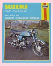 Haynes Workshop Manual for SUZUKI A AP AS A50 AP50 & AS50 models 1969 to 1977