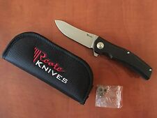 REATE HILLS DARK ORIGINAL KNIFE S35VN STEEL NEW in BOX
