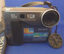 "SONY Mavica Digital Still Camera MVC-FD73 10x Optical Zoom 3.5"" Disc"