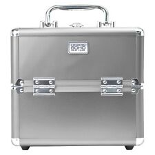 SOHO Ipop Silver Four Drawer Beauty Case