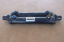 """Hynautic Marine Steering Cooler Stamped J-8 8511  1.5"""" IN OUT WATER"""